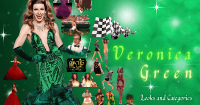 Veronica Green ~ Drag Race looks