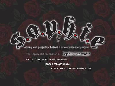 The Legacy of Sophie Lancaster